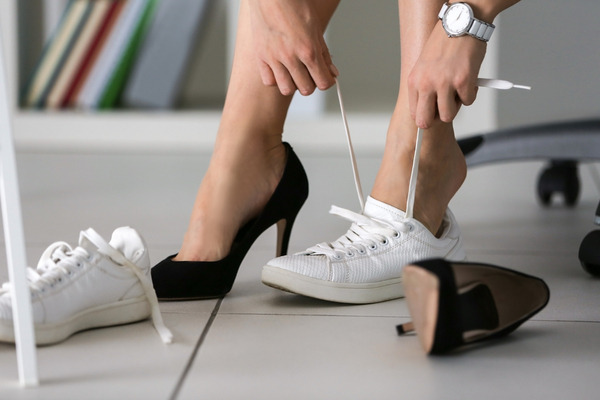 Alberta banning mandatory high heels in the workplace
