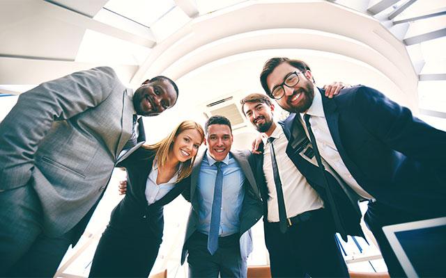 Corporate culture team
