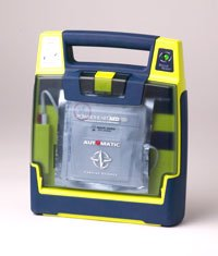 Bipolar AED with voice coach