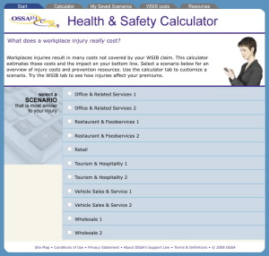 Service sector gets safety calculator