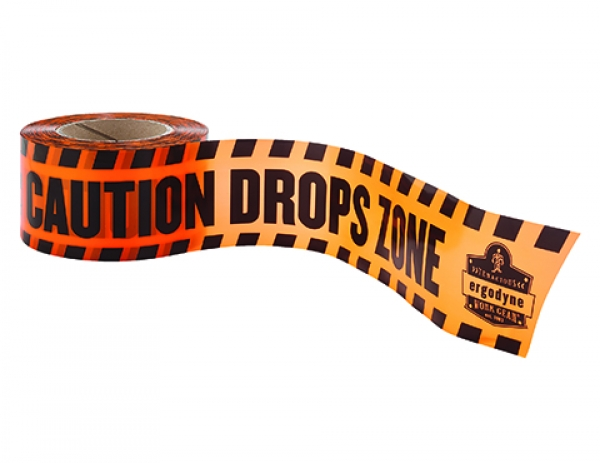 Drops zone caution tape