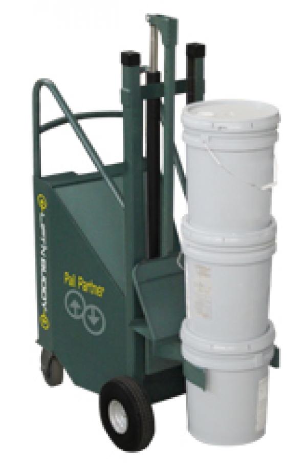 Ergonomic pail lift