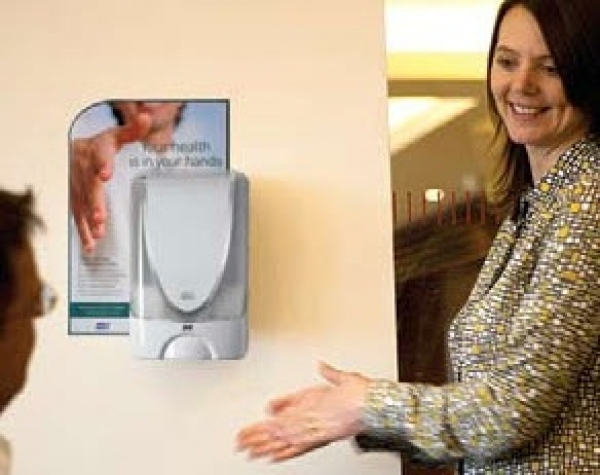 Touch-free sanitizer