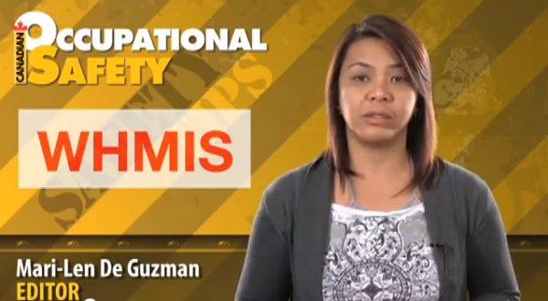 Safety Tip — WHMIS training