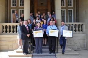 Raytheon, Earthmaster win Alberta safety awards