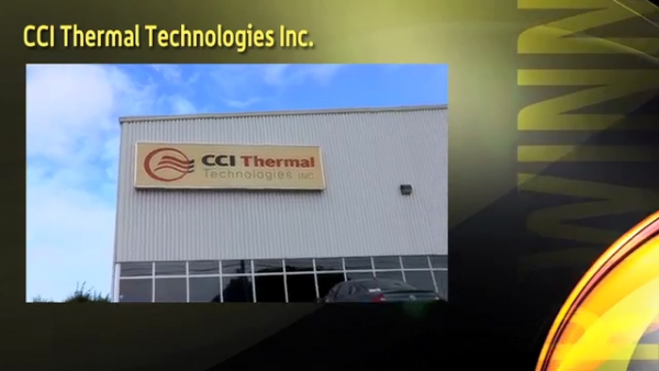 Canada's Safest Employer 2011 - CCI Thermal Technologies