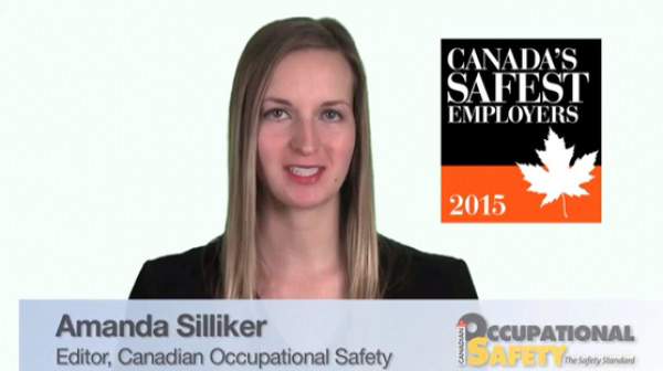Apply now for Canada's Safest Employers Awards 2015