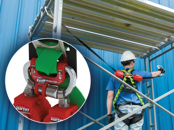 Twin fall protection system