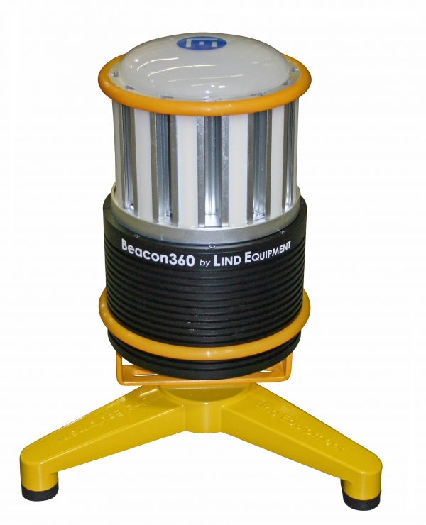 Battery-operated 360-degree LED light