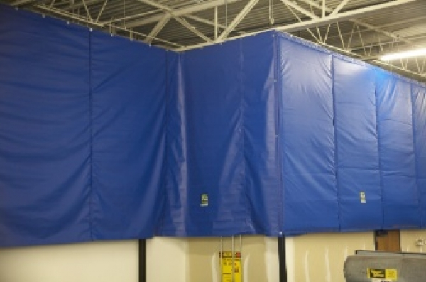 Noise-proof curtains