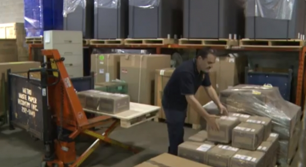 Manual materials handling at industrial workplaces