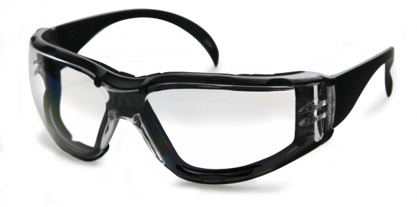 Replaceable foam liner eyewear