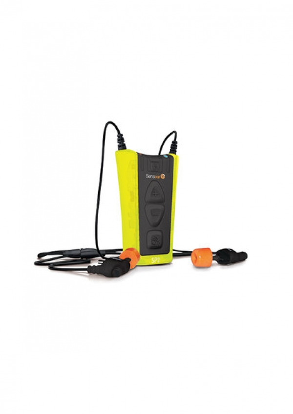 Earplug two-way radio headset