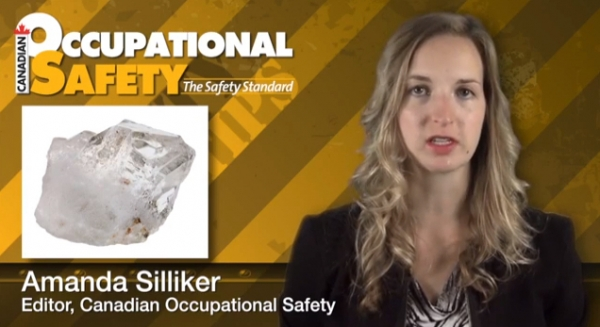 Safety Tip - Crystalline silica
