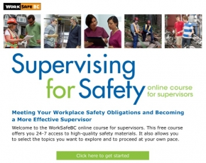New online course offers free safety resources for supervisors