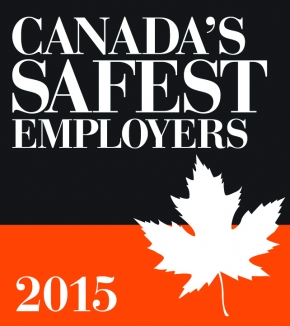 Announcing the 2015 Canada's Safest Employers