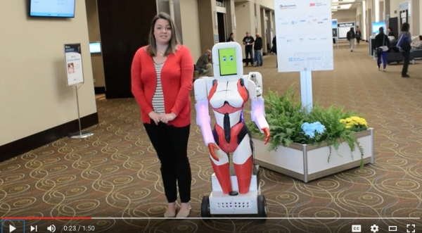 Robots take over Partners in Prevention 2016
