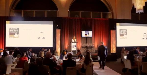 2015 Canada's Safest Employers gala celebration