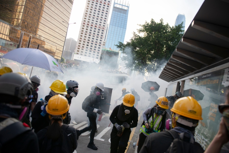 Canadian firms reviewing worker safety policies in wake of Hong Kong protests