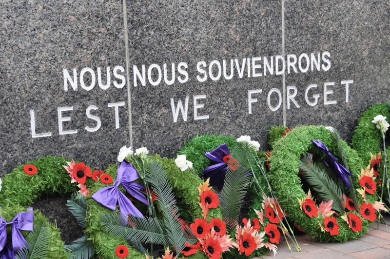 Who is given holiday pay on Remembrance Day?