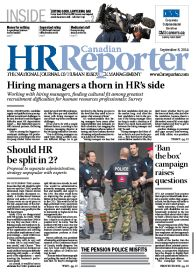 Sept. 8, 2014: Canadian HR Reporter/Human Resources News
