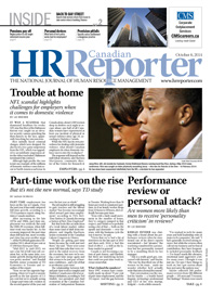Oct. 6, 2014: Canadian HR Reporter/Human Resources News
