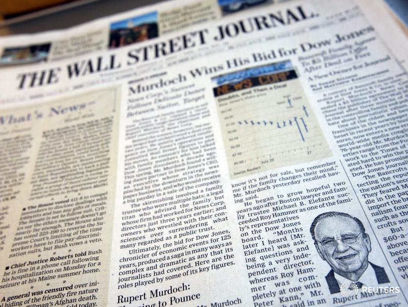 Wall Street Journal offers all news employees option to take buyouts: Memo