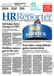 May 18, 2015: Canadian HR Reporter/Human Resources News