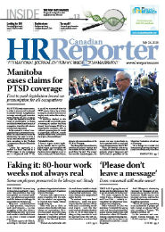 June 15, 2015: Canadian HR Reporter/Human Resources News