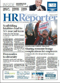 Feb. 8, 2016: Canadian HR Reporter/Human Resources News