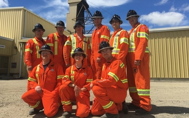 Canadian mine rescue team best in the world