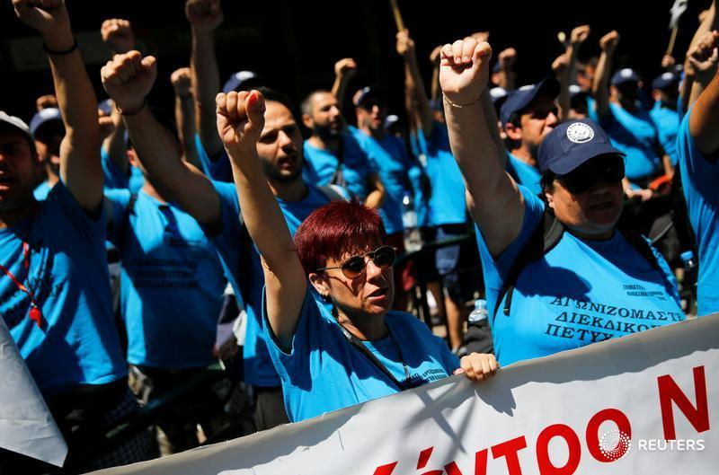 Greek law limiting mass layoffs overturned by EU court