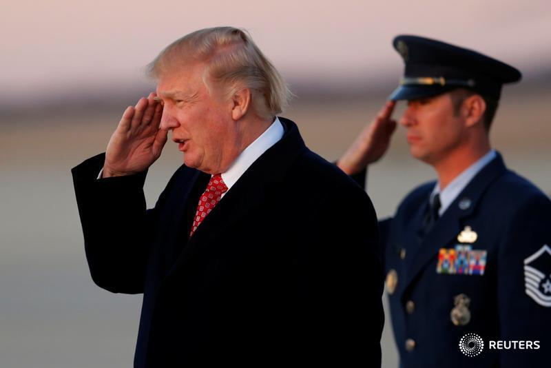 Trump Salute