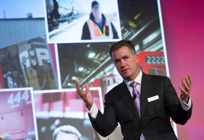 Canadian Pacific changing tracks to win customers