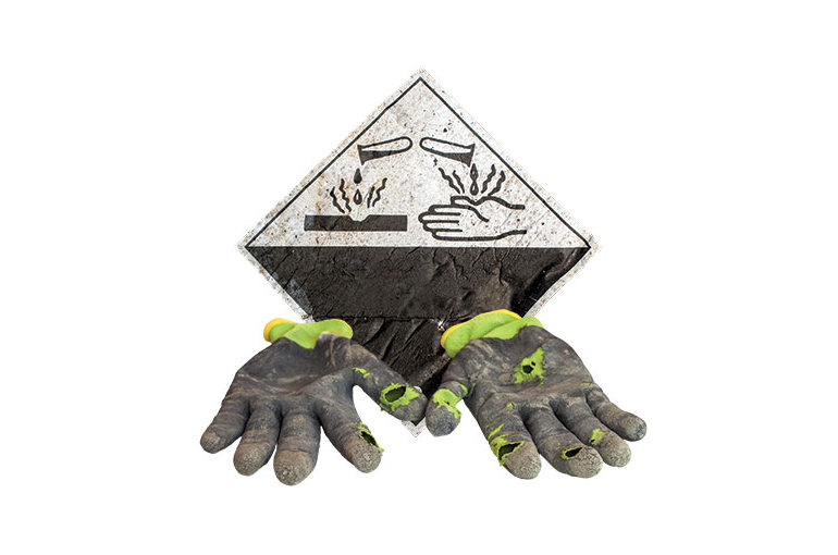 Choosing the right chemical resistant gloves