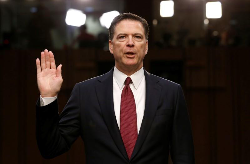 Surveys contradict Trump claim that Comey had lost FBI confidence