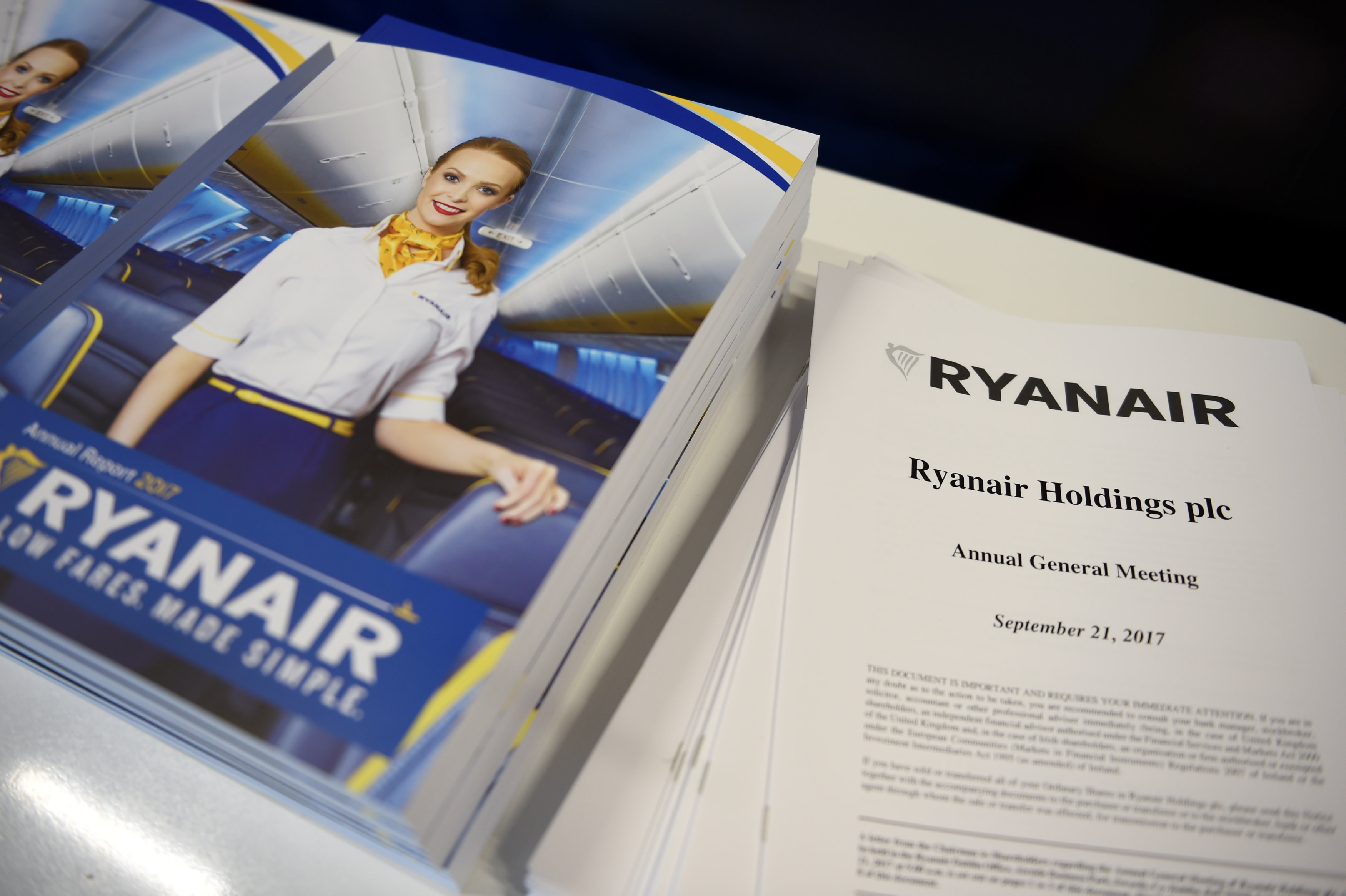 Ryanair AGM