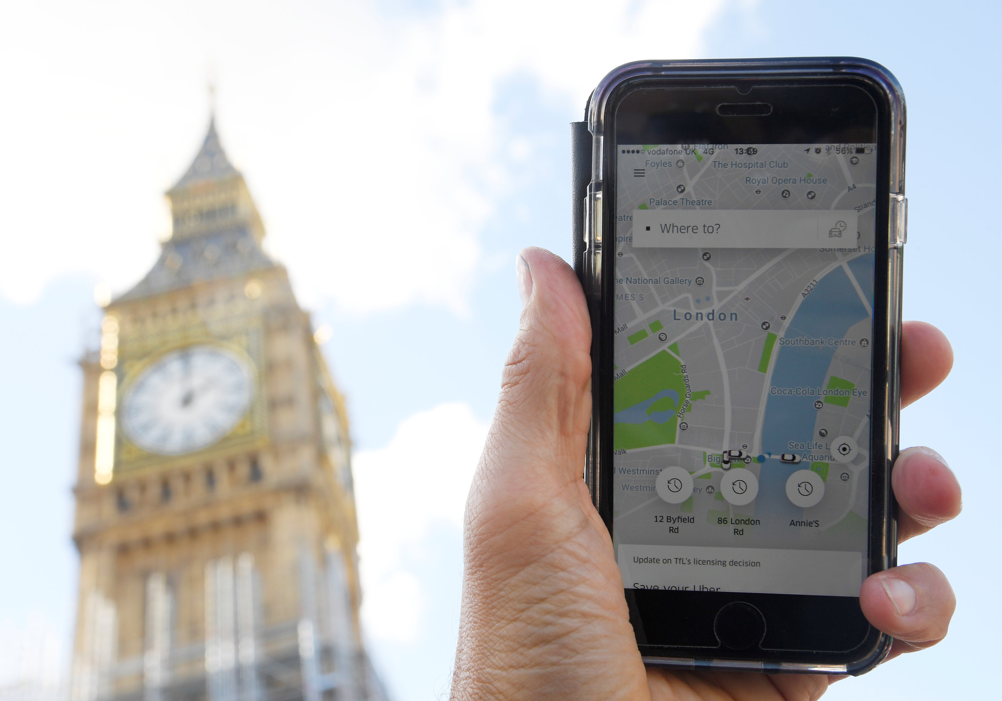 Uber announces it is leaving Quebec