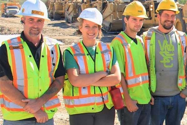 Borger safest employers