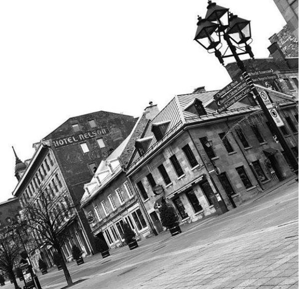 Old Port area of Montreal
