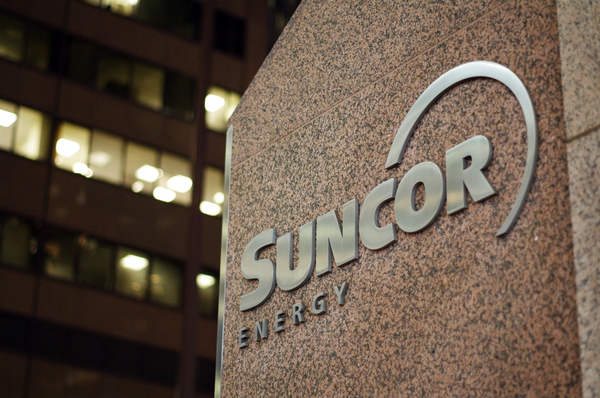 Suncor sign