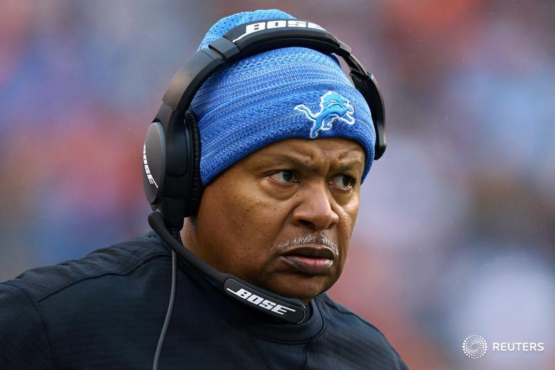 Jim Caldwell fired as coach of the Detroit Lions