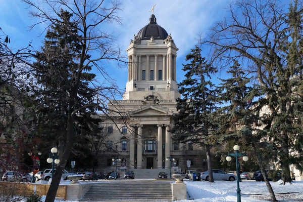 Manitoba legislature Winnipeg