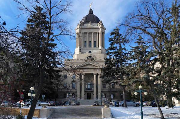 Manitoba legislature Winnipeg