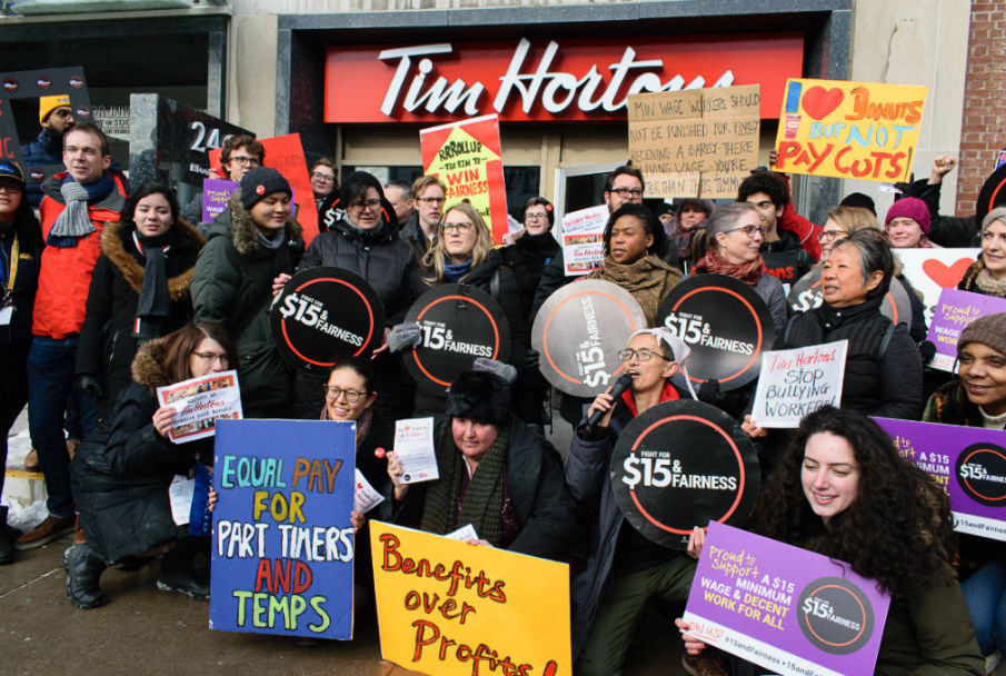 Tim Hortons protests to expand beyond Ontario, 50 rallies planned across Canada