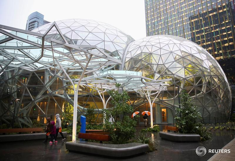 Amazon opens its own rainforest in Seattle