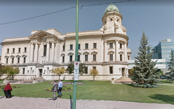 Manitoba courthouse
