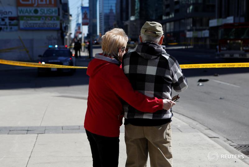 Van attack in Toronto kills 10