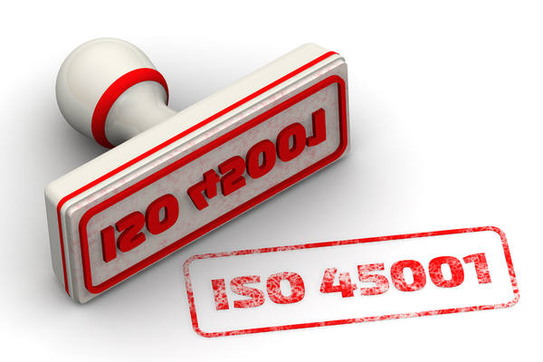 ISO 45001 stamp