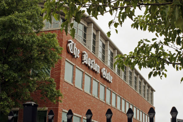 newspaper building